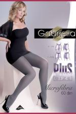 Gabriella Microfibra Plus Size, szexi harisnya, fekete 6