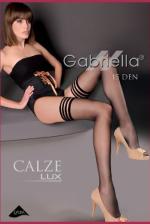 Gabriella combfix, Calze Lux 15 Den, bézs 3/4
