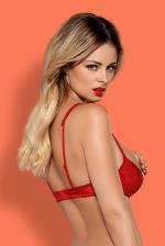 Erotikus fehérnemű, Lovica piros nyitott melltartó