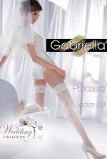 Esküvői fehér combfix, Princessa calze 08