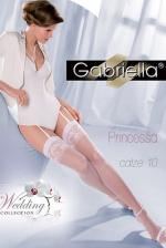 Esküvői fehér combfix, Princessa calze 10
