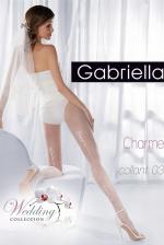 Esküvői fehérnemű, Charme 03 szexi fehér harisnya