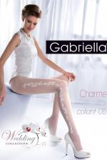 Esküvői fehérnemű, Charme 05 szexi harisnya, fehér