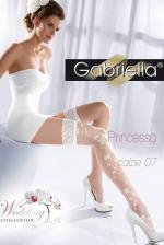 Esküvői fehérnemű, Princessa 07, fehér combfix